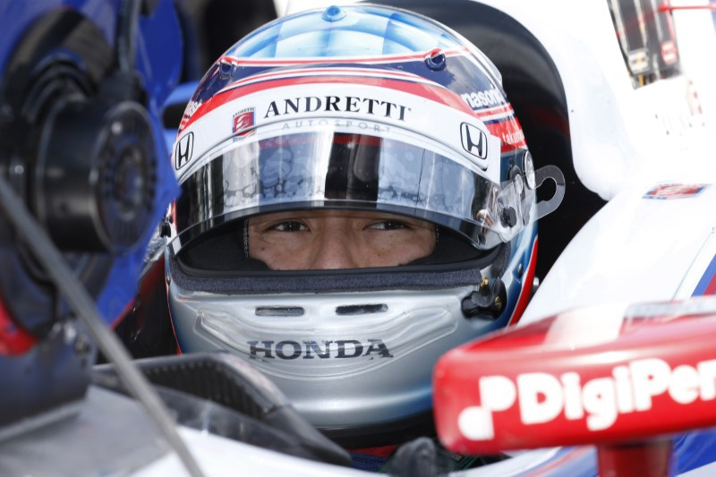 Sato wins first Indy 500