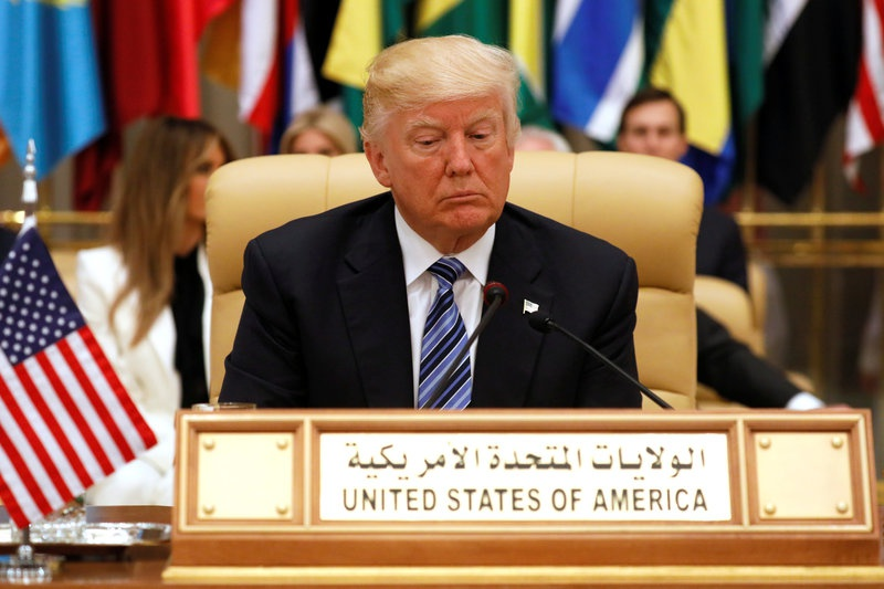 Trump seeks coalition to 'stamp out extremism'