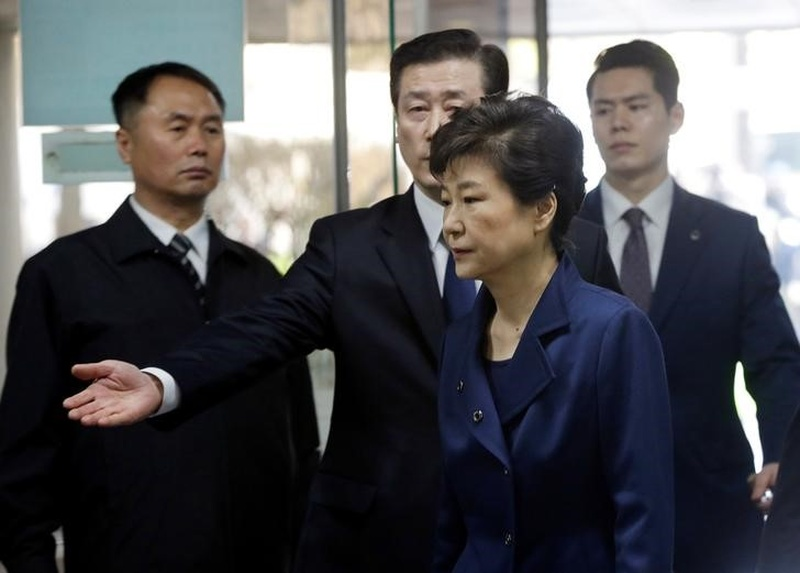 South Korea's ousted president charged with bribery