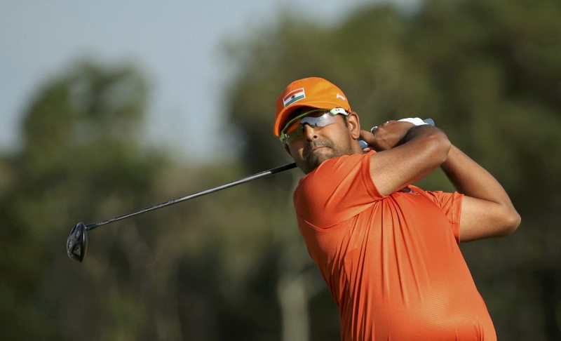 Anirban Lahiri shoots 65 to tie for second in Memorial