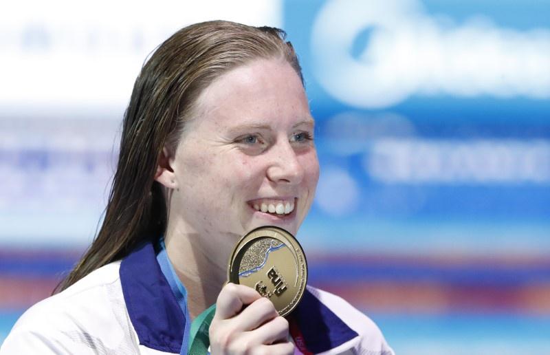 Swimming-King breaks world record to win Efimova grudge match