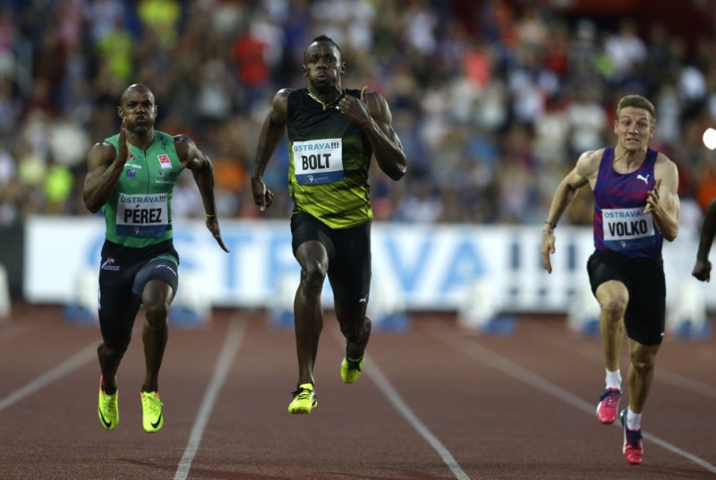 Usain Bolt and Mo Farah hit form in Czech Republic