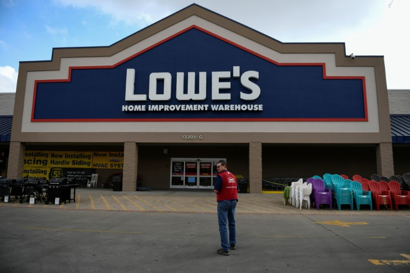 Lowe's weak quarter stands in contrast to rival Home Depot