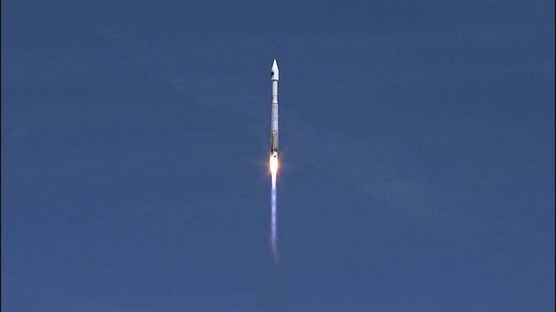 Cygnus spacecraft heads for International Space Station
