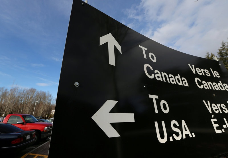 Rise in asylum seekers crossing into Canada seen with warmer weather