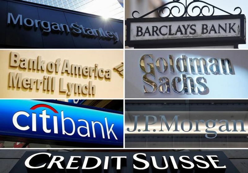 Morgan Stanley Barclays Goldman Sachs JPMorgan Credit Suisse Citigroup and Bank of A