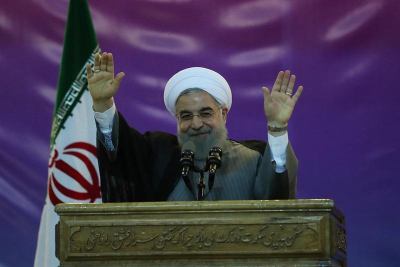 Iranian president calls US relations 'a curvy road'