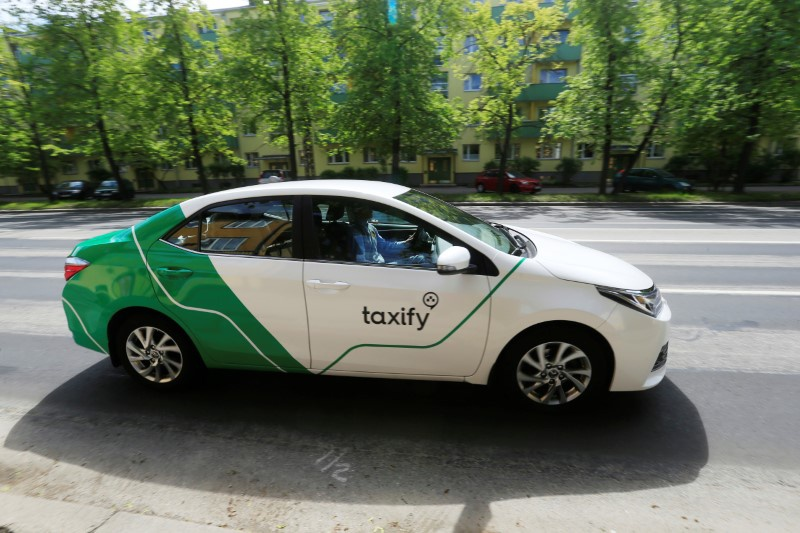 Didi Chuxing buys minority holding in Estonian ride-hailing app Taxify