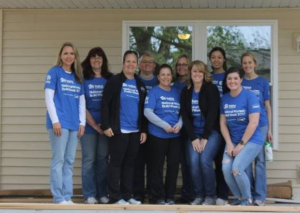 National Women's Build Week with Habitat for Humanity