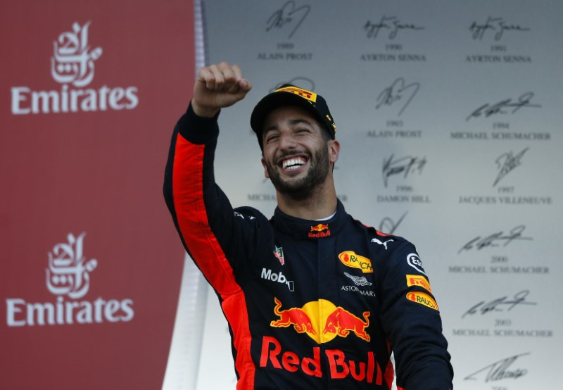 Ricciardo takes shock win in Baku
