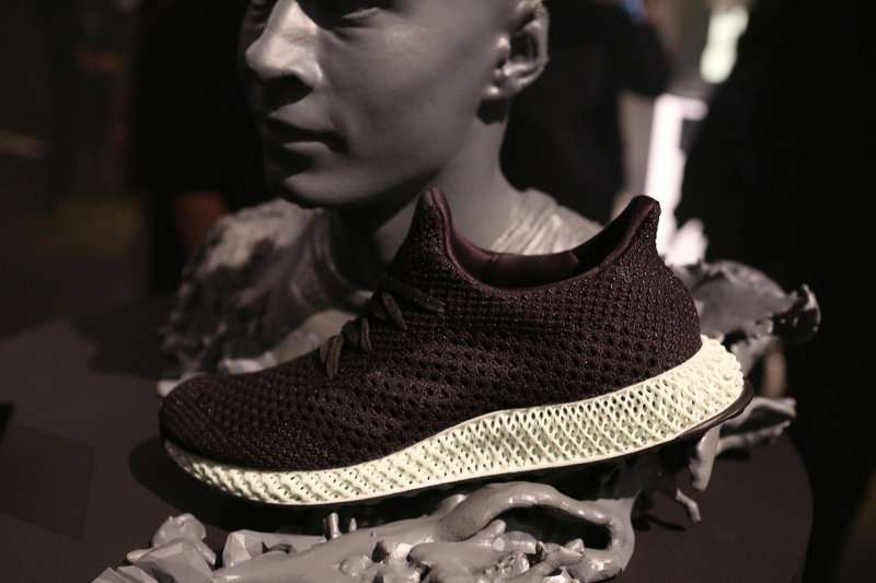 Adidas reveals the first 3D-printed shoe it'll mass produce