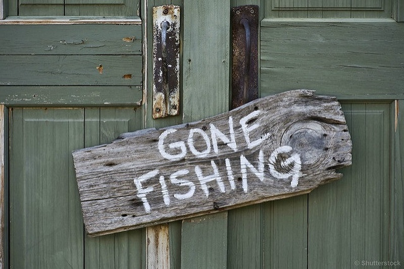 It's free-fishing weekend, but anglers be warned: You're on thin ice