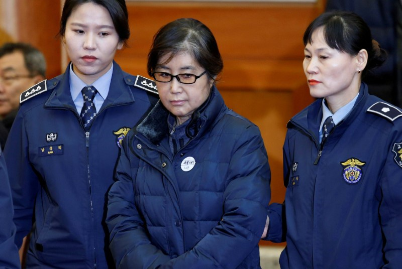 Ousted South Korean president's confidante sentenced