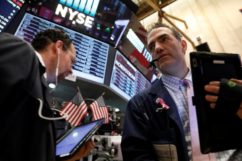 Stocks, bond yields drop as Washington turmoil rattles markets