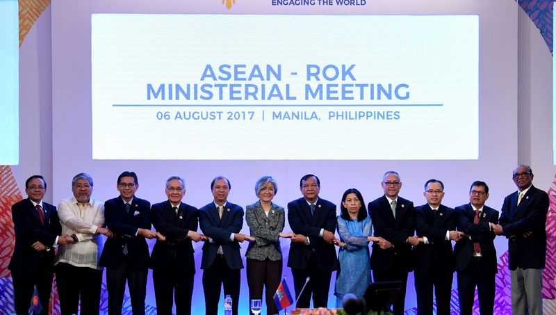 ASEAN foreign ministers endorse framework of COC in South China Sea