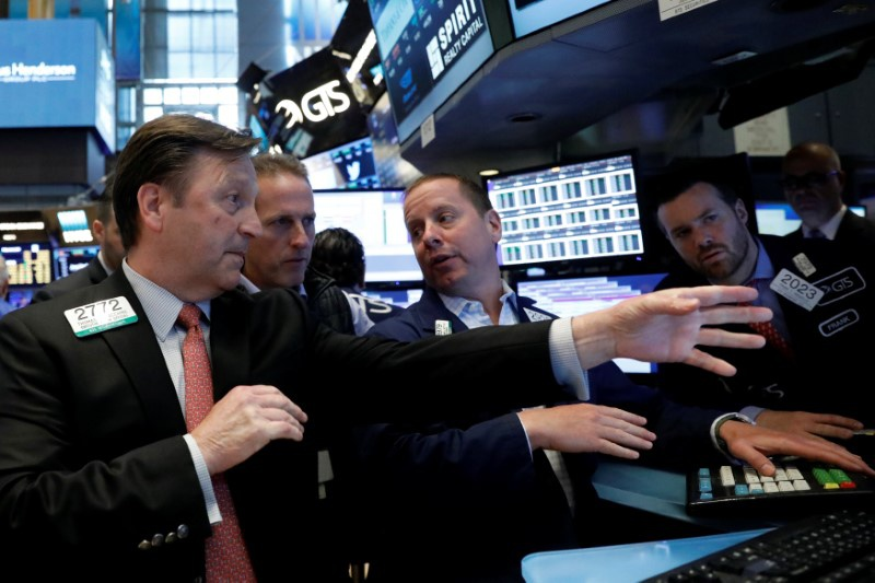 Markets Right Now: Tech gains send S&P 500 to another record