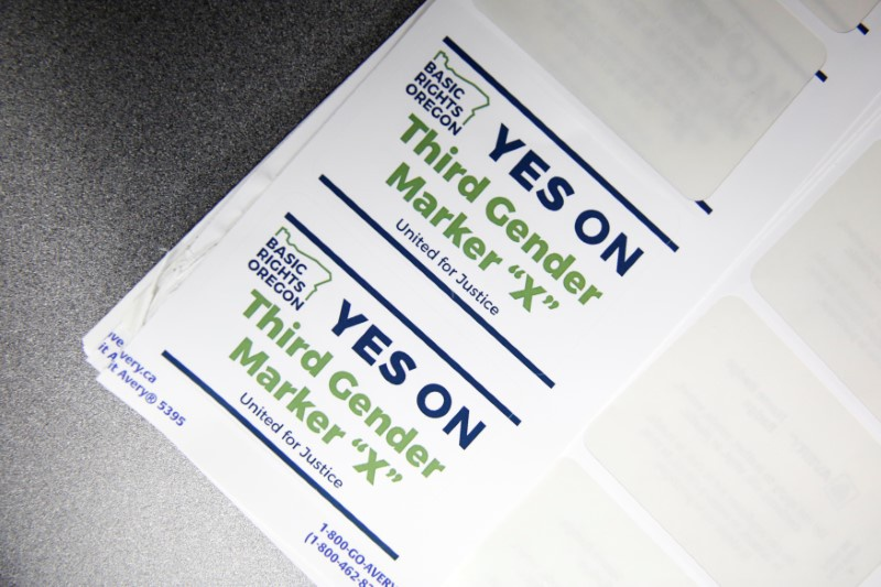 Oregon becomes first state to give non-gender option on driver's license