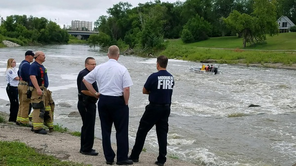 Crews Continue River Search For Missing Moorhead Student