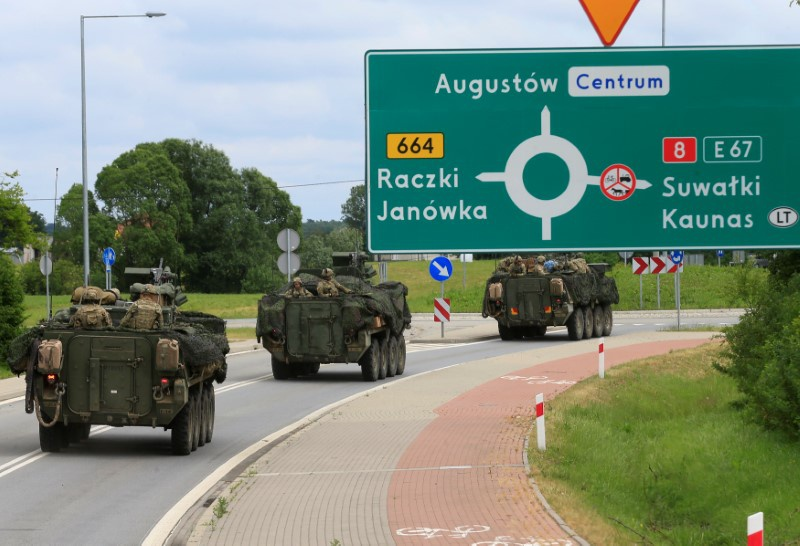 North Atlantic Treaty Organisation war game defends Baltic weak spot for first time