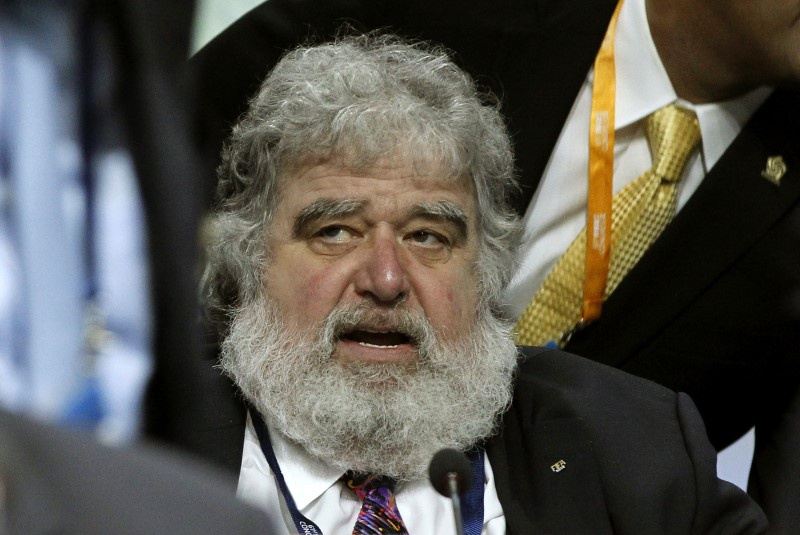 FIFA executive member Chuck Blazer attends the 61st FIFA congress at the Hallenstadion in Zurich