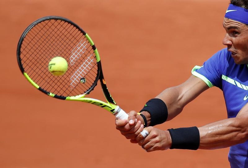 Nadal playing Wawrinka in French Open final — The Latest