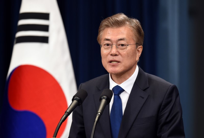 South Korea's Moon appoints top ministers and security adviser