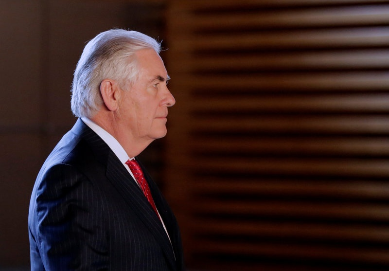 Tillerson urges