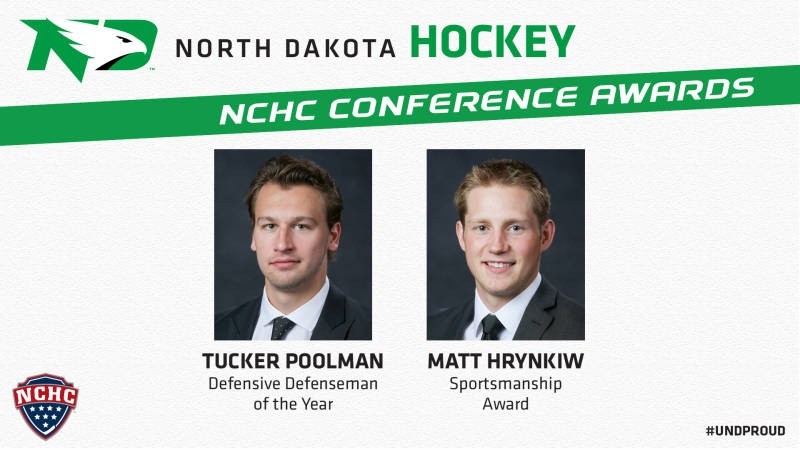 Late goal lifts Duluth past UND 4-3 in NCHC title game