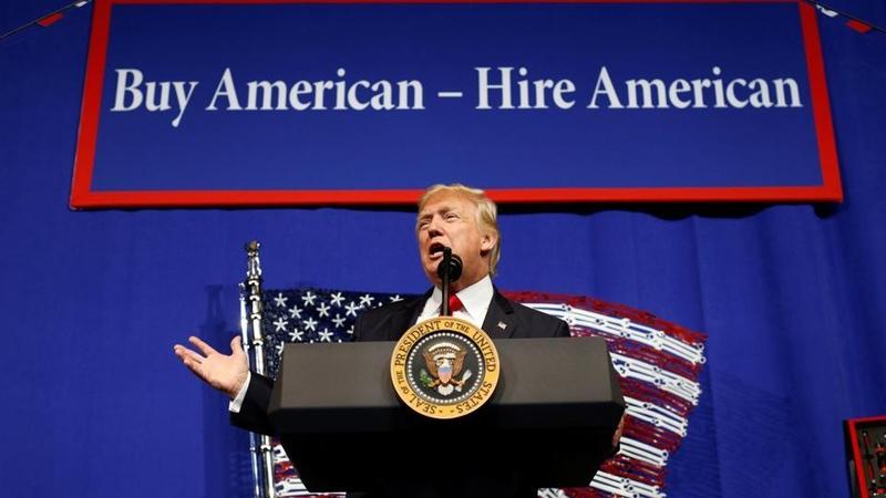Trump Signs 'Buy American, Hire American' Executive Orders