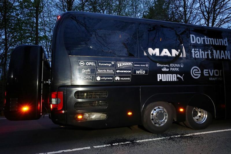 Marc Bartra Dortmund defender out of hospital