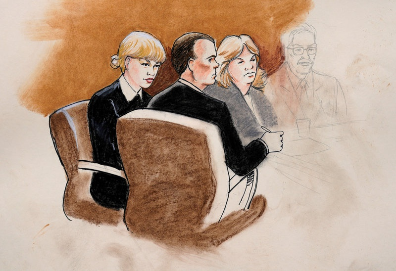 DJ's lawyer: Taylor didn't act like she was being groped