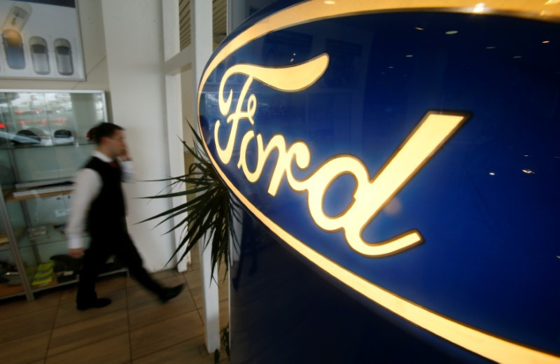 Ford increases quarterly profit on reduced tax rate