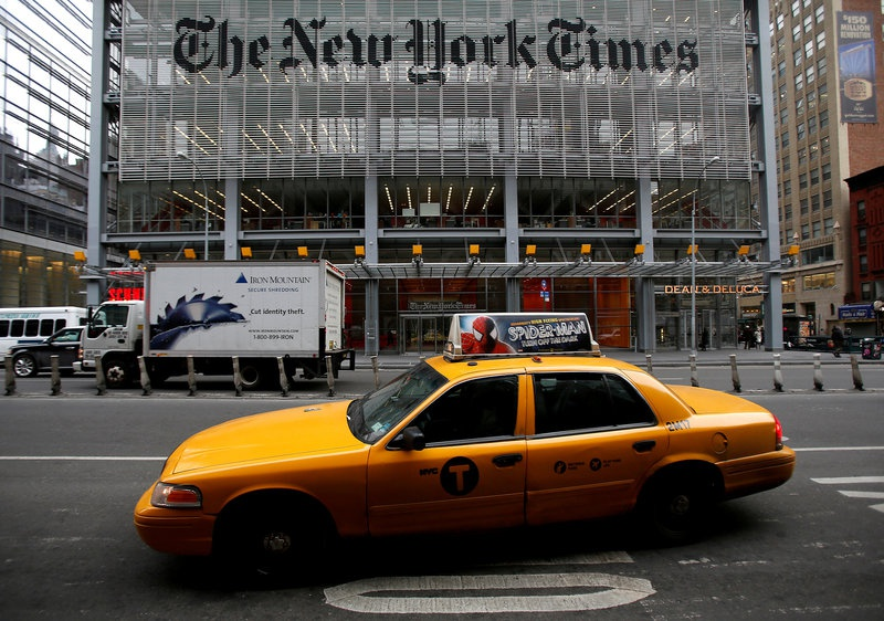 New York Times posts 1Q profit