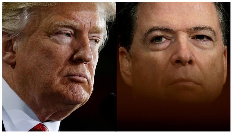 Ending guessing game, Trump admits there are no Comey tapes