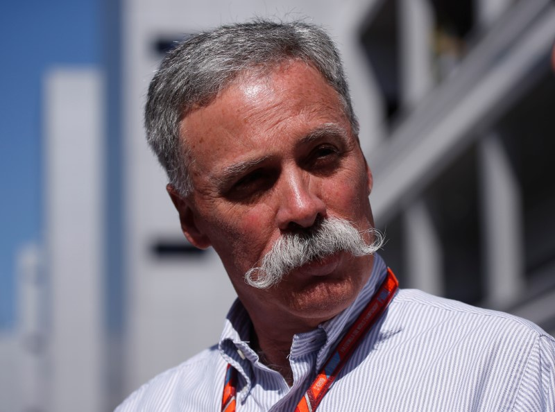 F1 chief Chase Carey made official starter
