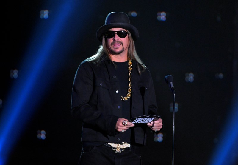 Kid Rock is actually a contender in Michigan Senate race