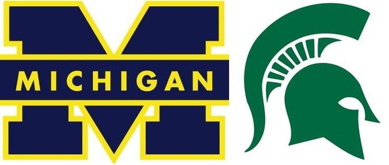michigan state msu football basketball university logos start spartans today dance saturday rivalry game wolverines speaks dantonio campaigns open poll