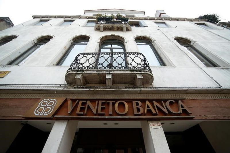 Italy giving 5.2B euros in resources to keep 2 banks open