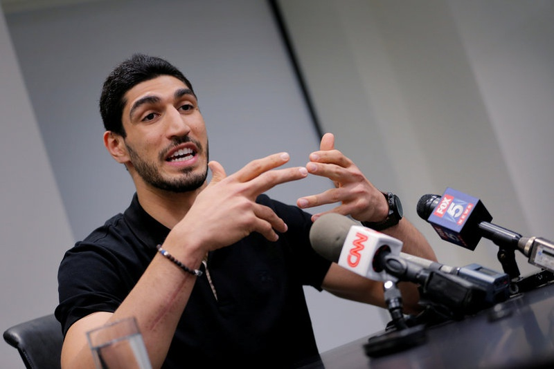 Turkish government issues arrest warrant for Enes Kanter