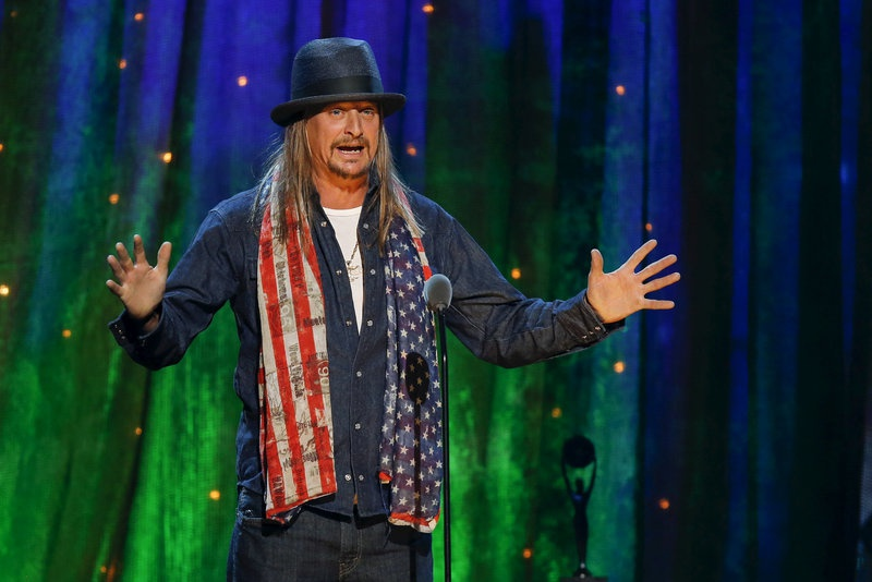 Kid Rock hints at running for US Senate