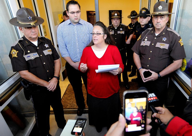 Kentucky must pay attorney fees for couples who sued Kim Davis