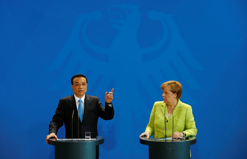 Germany and China should cooperate on protecting climate - Merkel