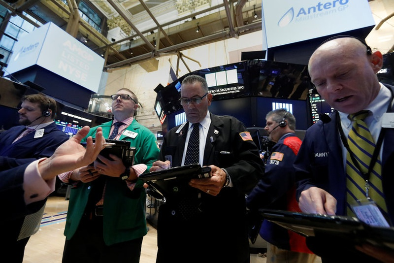 US dollar, yields rise; stocks slip from record highs