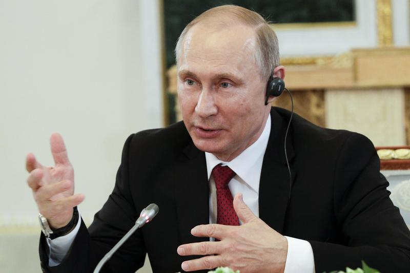 Putin: Russia doesn't hack but