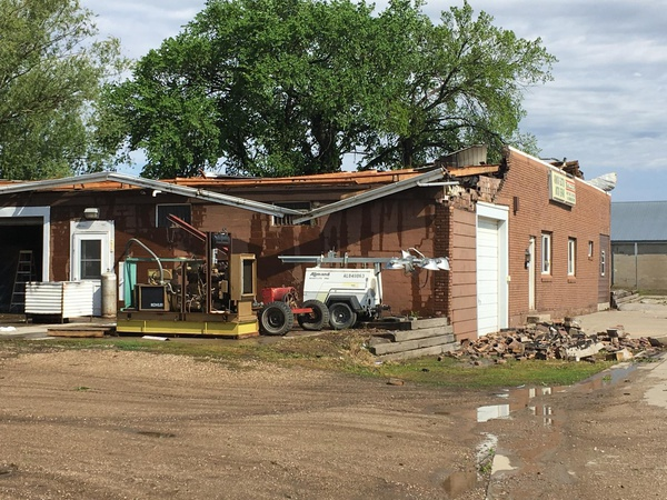 Storms Leave a Trail of Damage in Southeast South Dakota