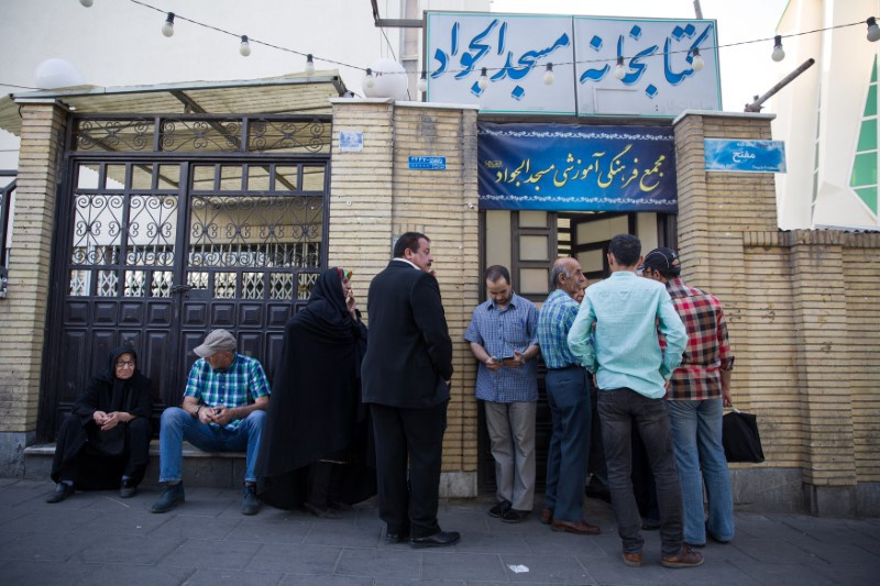 Voters in Iran go to the polls to pick president