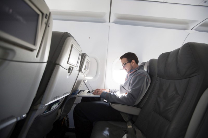Is the USA  considering banning laptops on all flights from Europe?