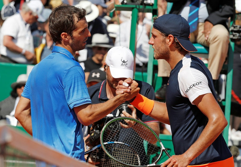 Controversy as Nadal defeats Goffin in Monte Carlo