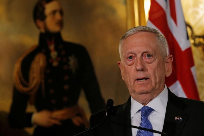 Mattis says training, assisting to remain core mission of forces in Afghanistan