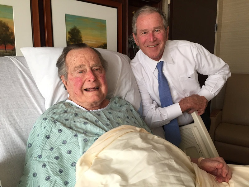 Doctor: George HW Bush dealing with chronic bronchitis
